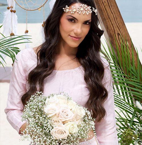 Bridal Boho Looke